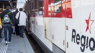Travaux: une nuit sans train en Valais