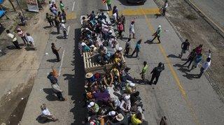 Amérique centrale: la caravane des migrants poursuit sa route au Mexique pour atteindre les États-Unis