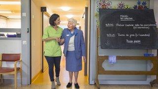 Malades d'Alzheimer: le home de Vex propose un accompagnement innovant