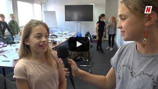 Des petits Valaisans se frottent au métier de journaliste avec le Nouvelliste à l'occasion de la journée «futur en tous genres»
