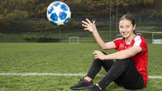 Football: la Valaisanne Malaurie Granges rêve d'enfiler un jour le maillot de l'équipe de Suisse A