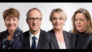 Conseil fédéral: trois femmes, dont la Valaisanne Viola Amherd et un homme pour succéder à Doris Leuthard
