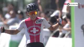 Le cycliste martignerain Simon Pellaud gagne la dernière étape du Tour de Hainan