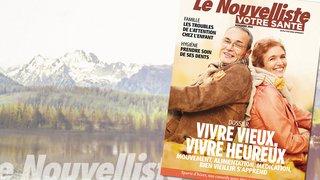 """Magazine """"Votre Santé"""": Comment bien vieillir? Découvrez notre magazine ici."""