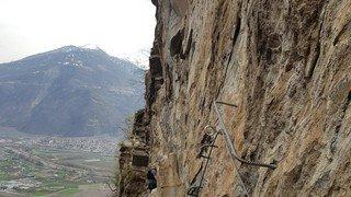 C'est la deuxième fois qu'un grimpeur meurt à la via ferrata de Saillon