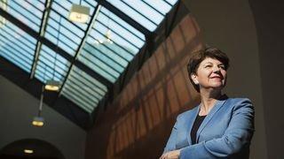 Conseil fédéral: la Haut-Valaisanne Viola Amherd est officiellement candidate à la candidature pour remplacer Doris Leuthard