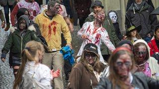 Zombie Walk à Monthey