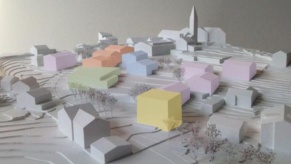 La commune de Savièse va pouvoir démarrer très prochainement le projet immobilier qui vise à refaire entièrement le centre de Saint-Germain.