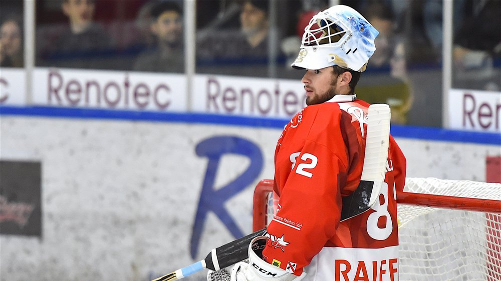 Maxime Baud, une nouvelle fois excellent, n'a pas suffi à Valais-Chablais.