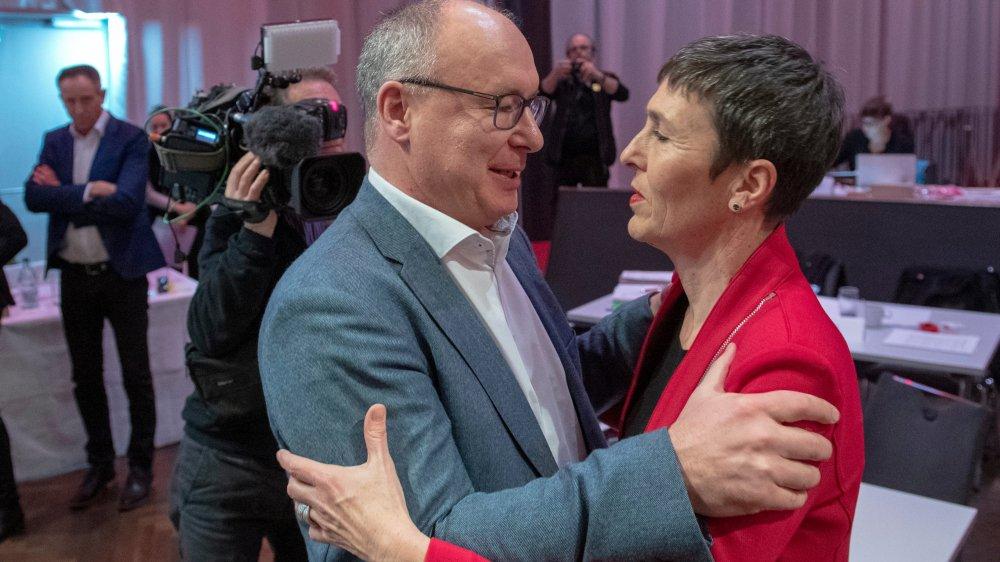 Pierre-Yves Maillard élu au premier tour