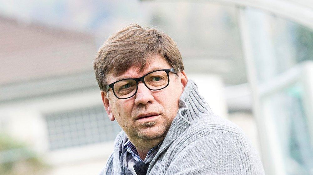 Mirsad Baljic s'est établi en Valais au terme de sa carrière sportive.