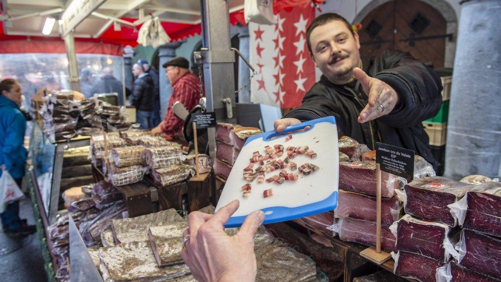 La Foire au lard de Martigny-Bourg, une tradition séculaire, mais qui doit s'adapter à son temps.