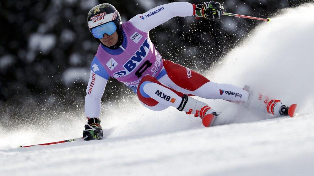 Quatrième au terme de la première manche, Loïc Meillard a pris la 5e place du premier géant de la saison.