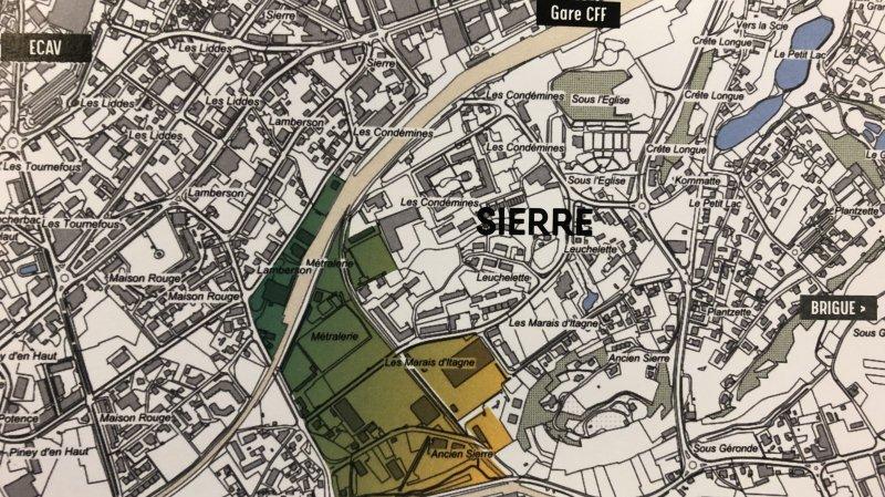 Sierre va entièrement repenser son quartier des Condémines