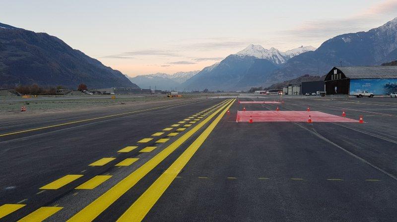 Aéroport de Sion: tout le tarmac sera refait... en 10 ans