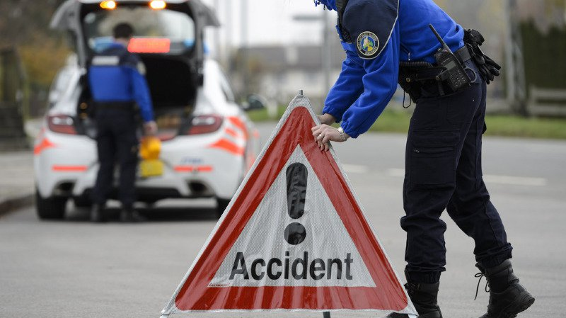 Vaud: un Français établi en Valais se tue dans un accident de la route à Epalinges