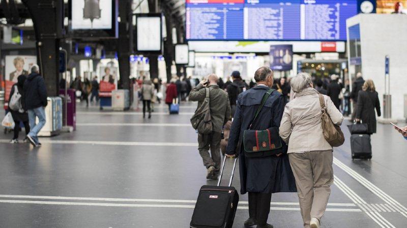 Panne informatique aux CFF: le trafic ferroviaire en Suisse revient à la normale