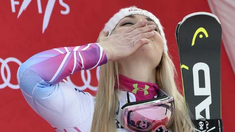 Ski alpin: Lindsey Vonn repousse sa retraite après Lake Louise 2019