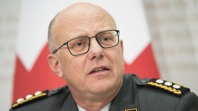 Armée suisse: le chef Philippe Rebord s'excuse pour les frais excessifs