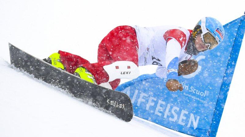 La snowboardeuse haut-valaisanne Patrizia Kummer veut retrouver les beaux jours