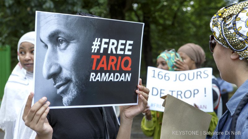Après 10 mois de prison, Tariq Ramadan a obtenu sa mise en liberté sous conditions (archives).