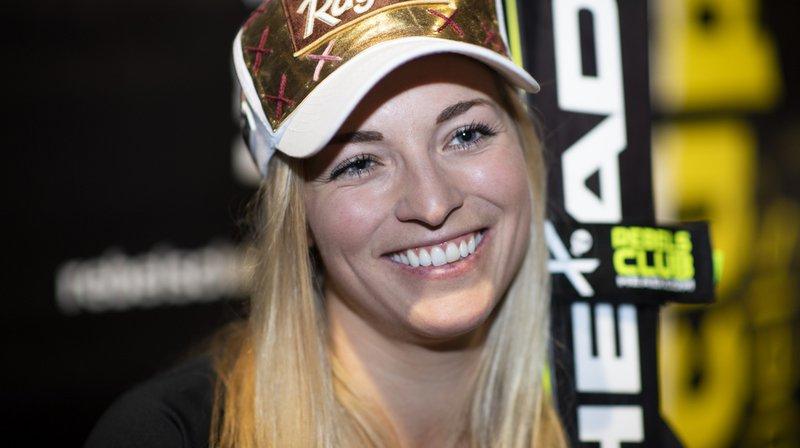 """""""A un moment, cela ne suffit plus d'être bonne en sport pour être heureuse dans la vie"""", confie Lara Gut-Behrami."""