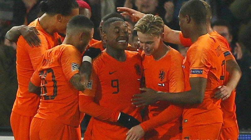 Football - Ligue des Nations: les Pays-Bas battent la France 2-0 à Rotterdam