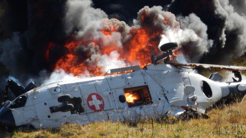 L'appareil s'était écrasé le 28 septembre 2016 après avoir heurté une ligne aérienne. Deux ans plus tard, l'équipage a été innocenté.