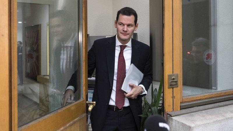 Affaire Maudet: le conseiller national genevois PLR Benoît Genecand appelle à la démission de son ministre