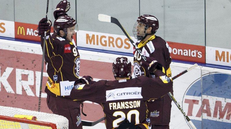 Rubin, Bozon et Fransson semblent avoir retrouvé leur hockey.