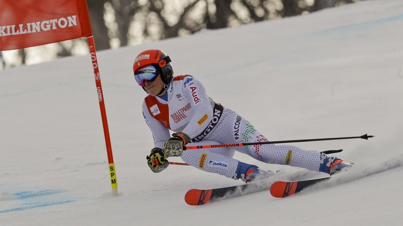 Ski alpin: Brignone reine du géant de Killington, Holdener 6e