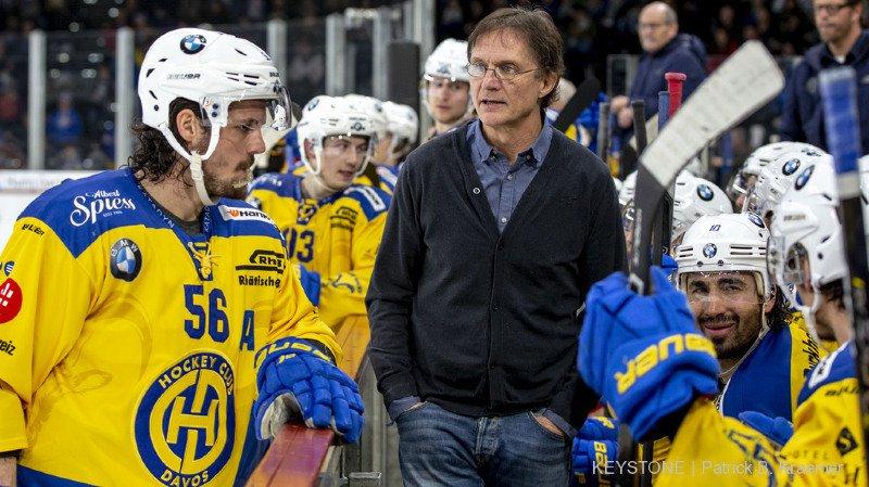 Arno Del Curto n'est plus l'entraîneur de la première équipe du HC Davos.