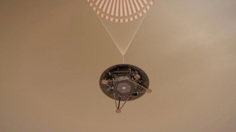 Espace: sur Mars, «tout va bien» pour la sonde InSight pour l'instant