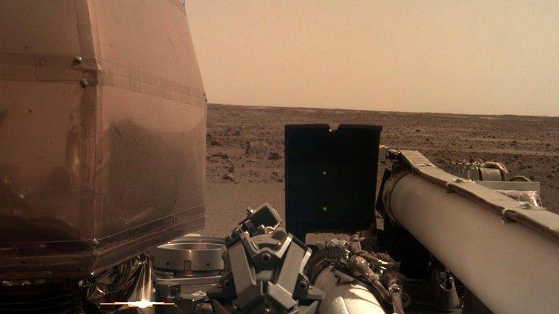 InSight va se mettre rapidement au travail pour analyser le sol martien.