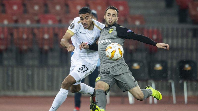 Football - Europa League: le FC Zurich s'incline à domicile face à l'AEK Larnaca
