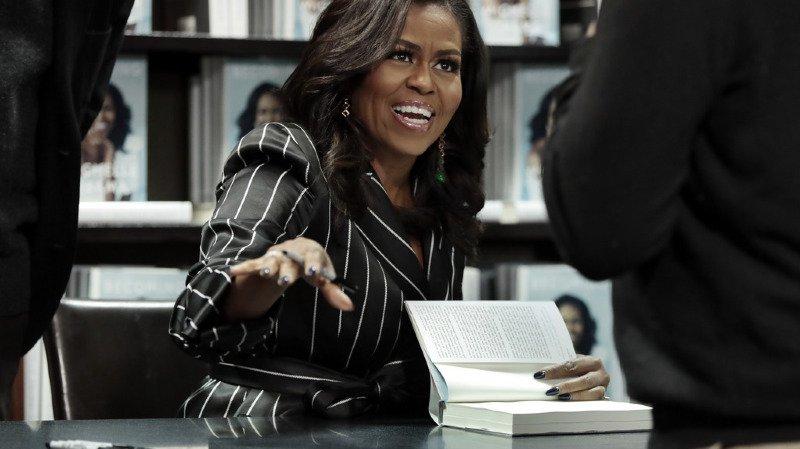 Le livre de Michelle Obama s'est déjà vendu à deux millions d'exemplaires aux Etats-Unis et au Canada