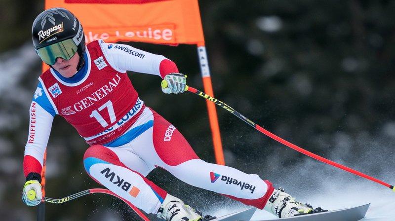 Pas de médaille, mais des points importants en Super G pour Lara Gut-Behrami, meilleure Suissesse à Lake Louise.