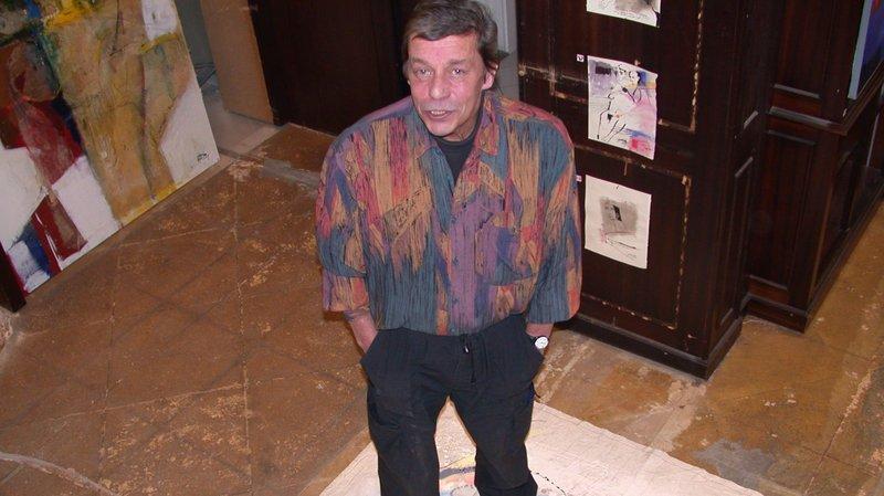 Le peintre montheysan Michel Piotta est décédé en 2009.