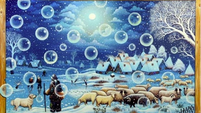 L'artiste Nikola Krstev illumine de ses tableaux la Maison de la culture à Savièse.
