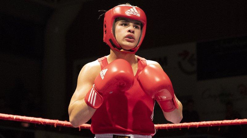 Gabriel Tomas, première année chez les amateurs, a vu son combat arrêté.