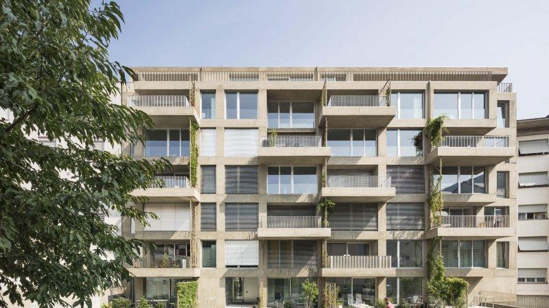 Sion: un immeuble locatif lauréat du prix Bilan de l'immobilier
