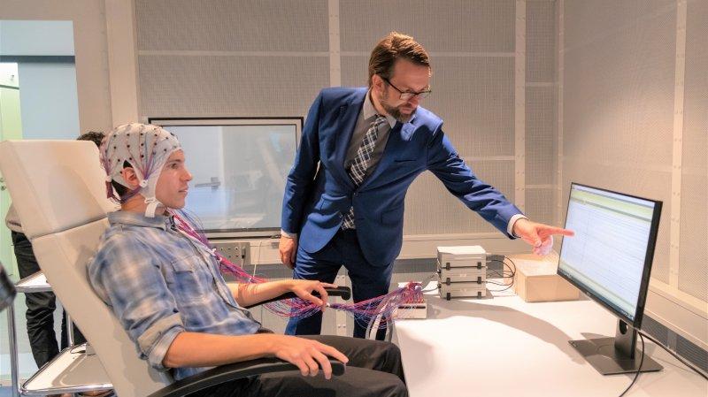 Sion: il veut réorganiser les cerveaux atteints d'un AVC