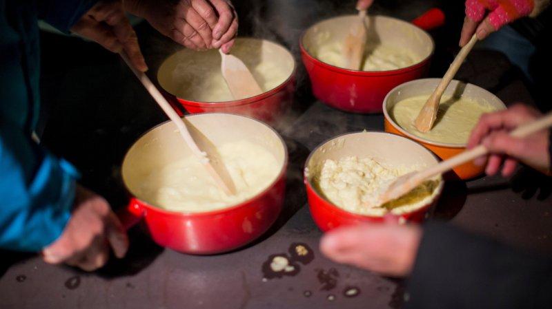 Genève: la fondue au fromage s'invite à bord des vols Swiss
