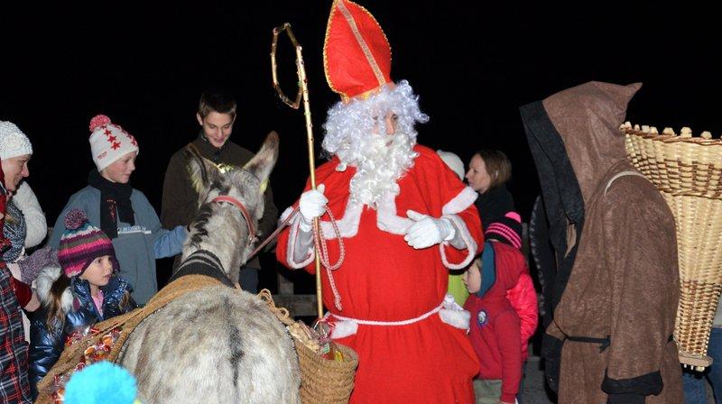 La Saint-Nicolas est une tradition bien ancrée dans le val d'Anniviers.