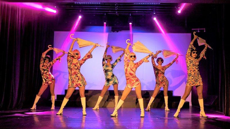Une Montheysanne monte un show sur les années 80 au casino de Montreux