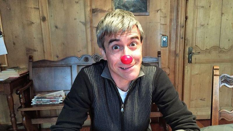 Le clown Gabidou – Casimir Gabioud dans le civil – est l'un des acteurs de la création de la troupe de théâtre Rizette & Cie, à Orsières.