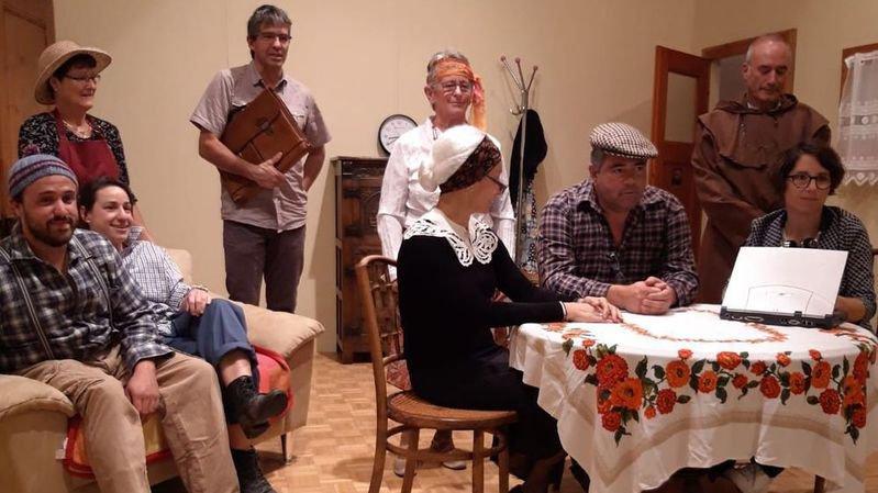 Des chansons et une comédie en deux actes pour les patoisants de Praz-de-Fort ce week-end