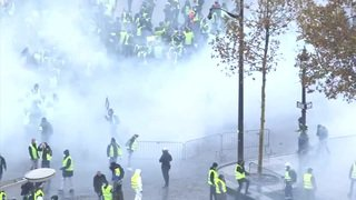 """Troisième acte des """"gilets jaunes"""" à Paris"""