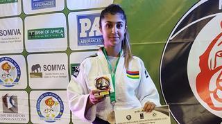 La judoka Priscilla Morand troisième au Sénégal