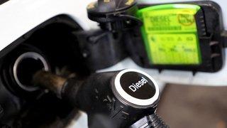 En Suisse, les prix de l'essence et du diesel sont les plus élevés de ces quatre dernières années